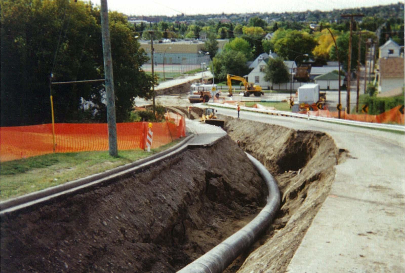 CRP HDPE pipe, City of Calgary