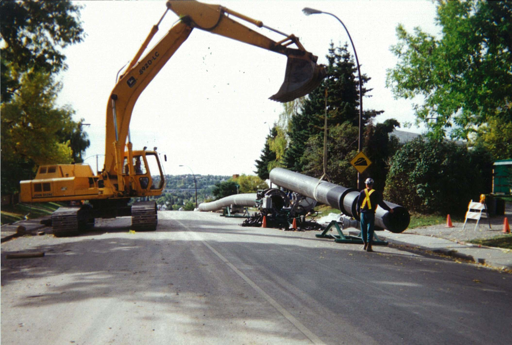 Watermains, HDPE pipe, Calgary