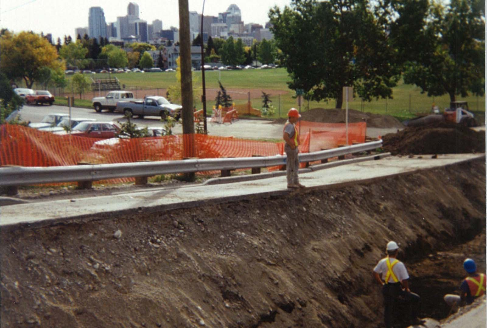 HDPE Water Main project for the City of Calgary